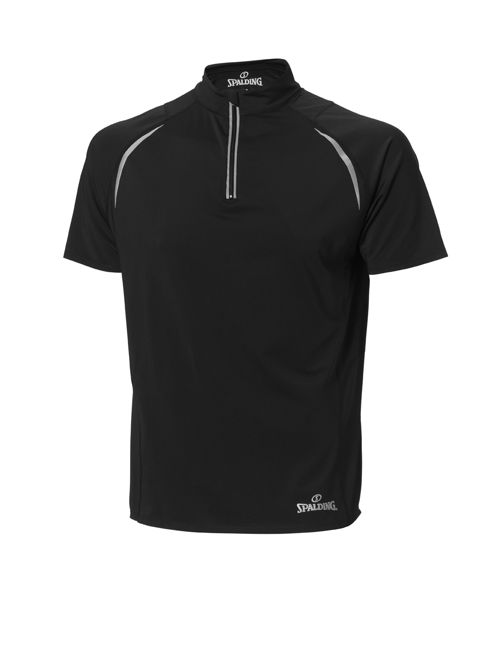 Spalding endurance Heren Zip Top Zwart