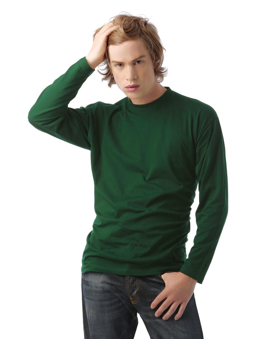 B&C 150 Exact Longsleeve T-shirt met lange mouwen