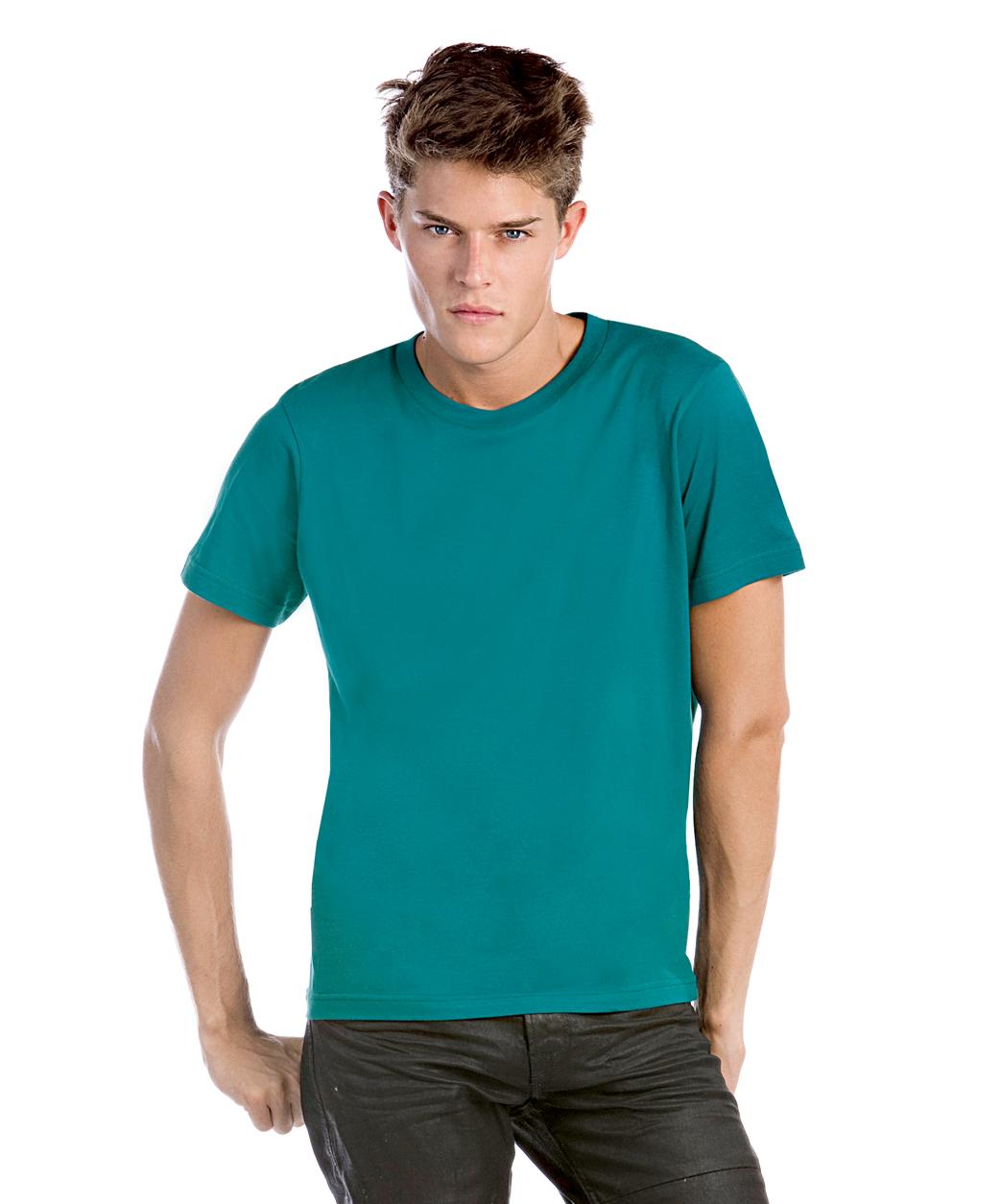B&C Men Only licht heren T-shirt