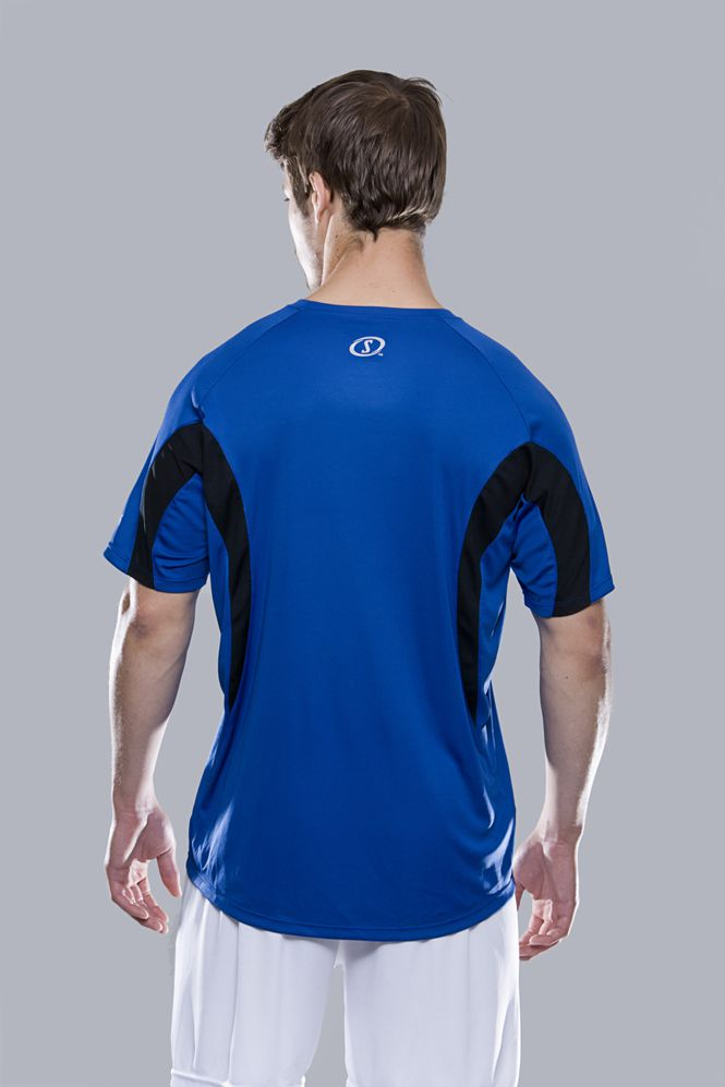 Spalding Heren Essential sport T-shirt Achterzijde