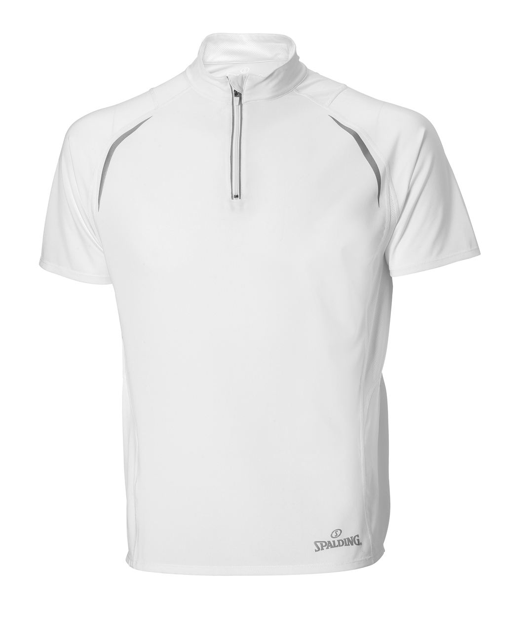 Spalding endurance Heren Zip Top Wit