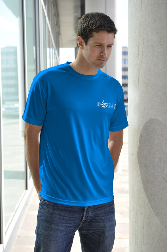 Just Cool sportshirt met bedrukking op 2 zijden