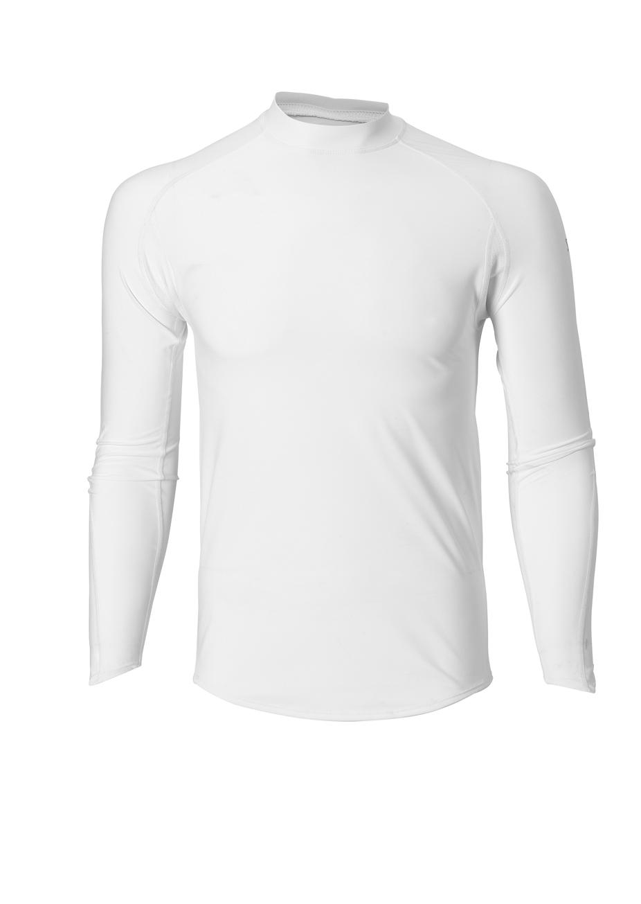 Spalding Heren Base layer long sleeve Wit
