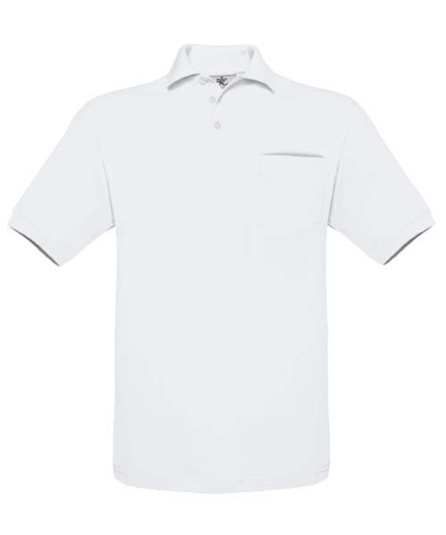 B-C Safran Pocket White