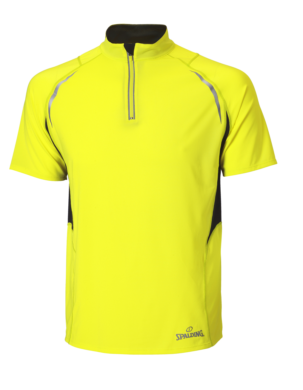 Spalding endurance Heren Zip Top Geel