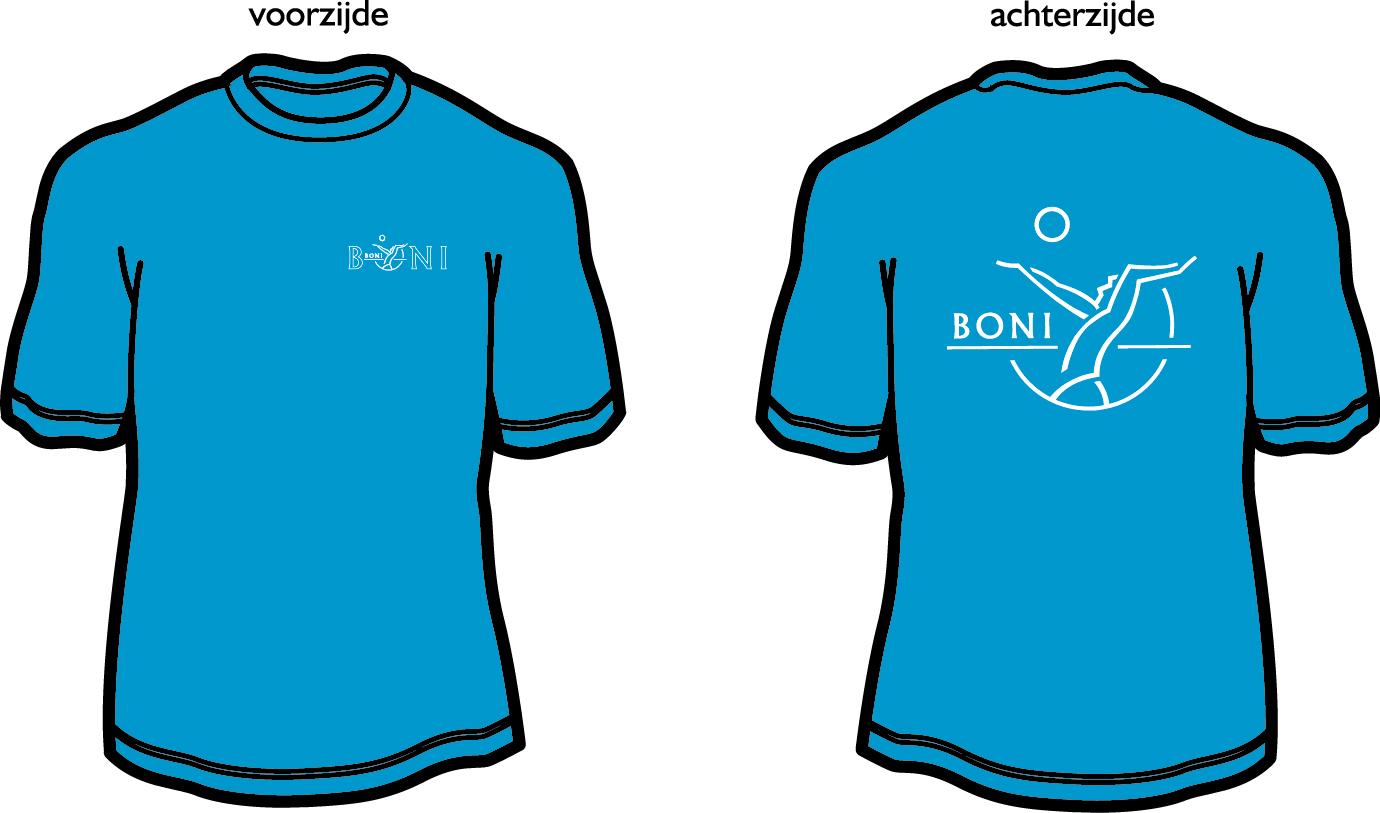 JC001 T-shirt met bedrukking