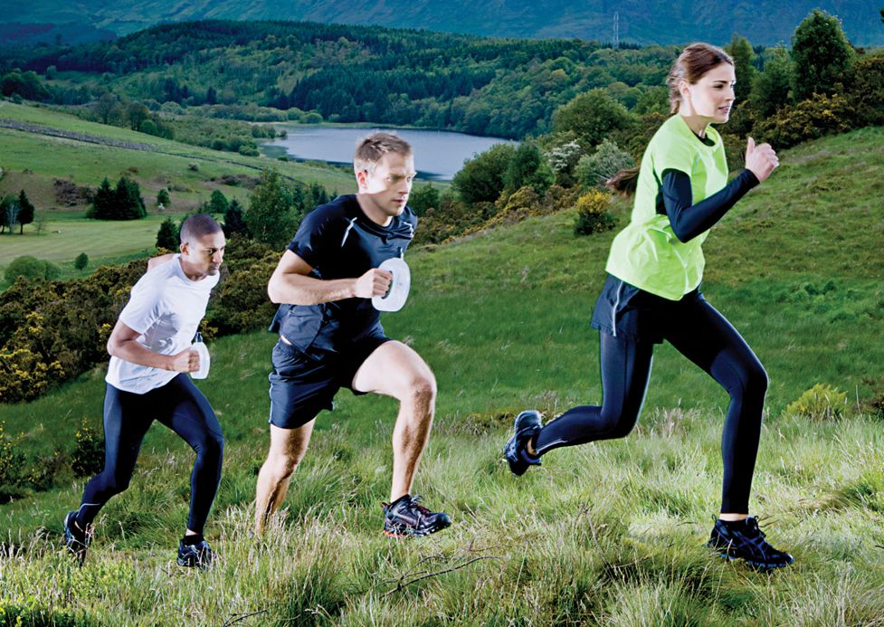 Spalding Endurance Dames T-shirt foto