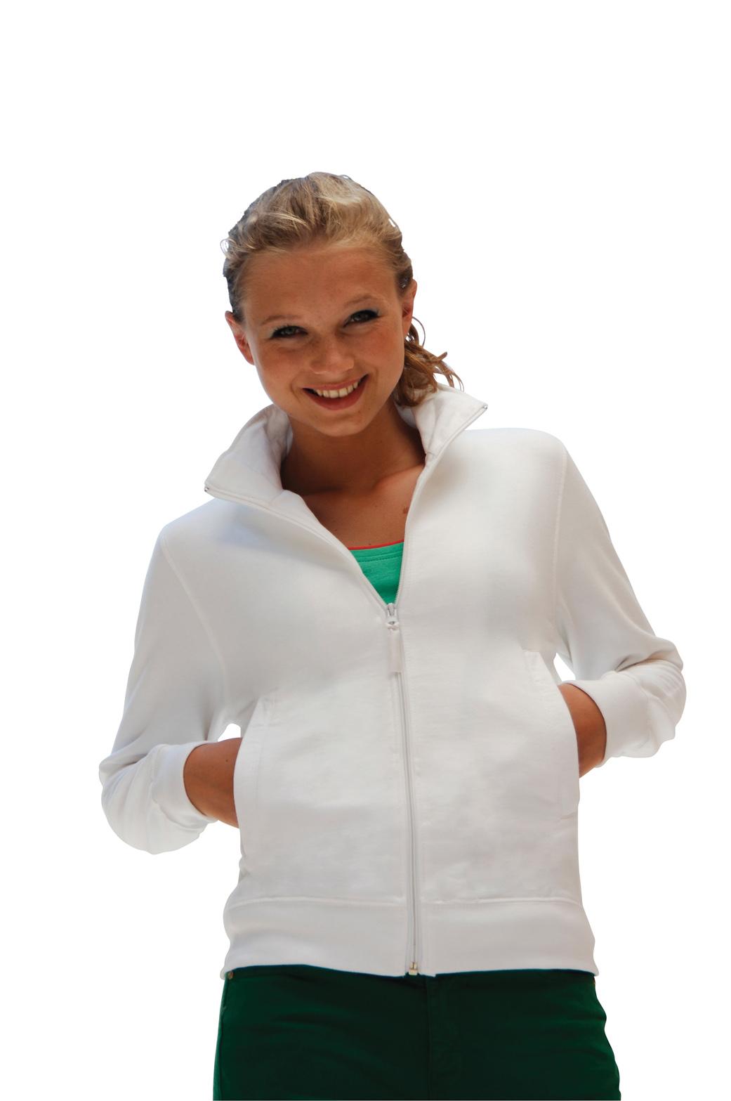 SkinniFit Women Full Zip Sweater