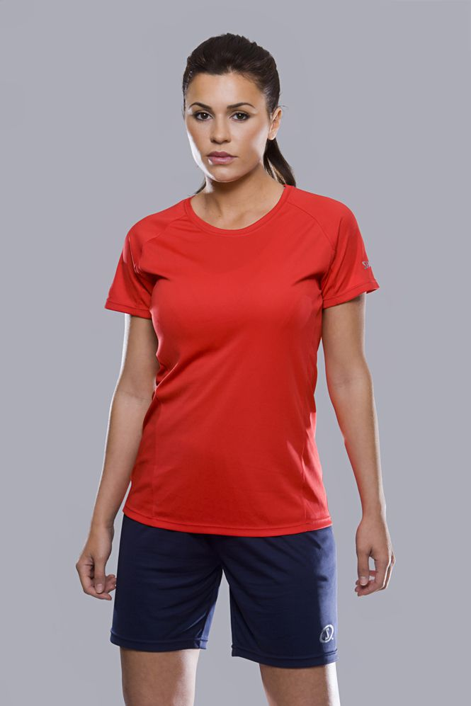 Spalding Dames Essential sport T-shirt Model