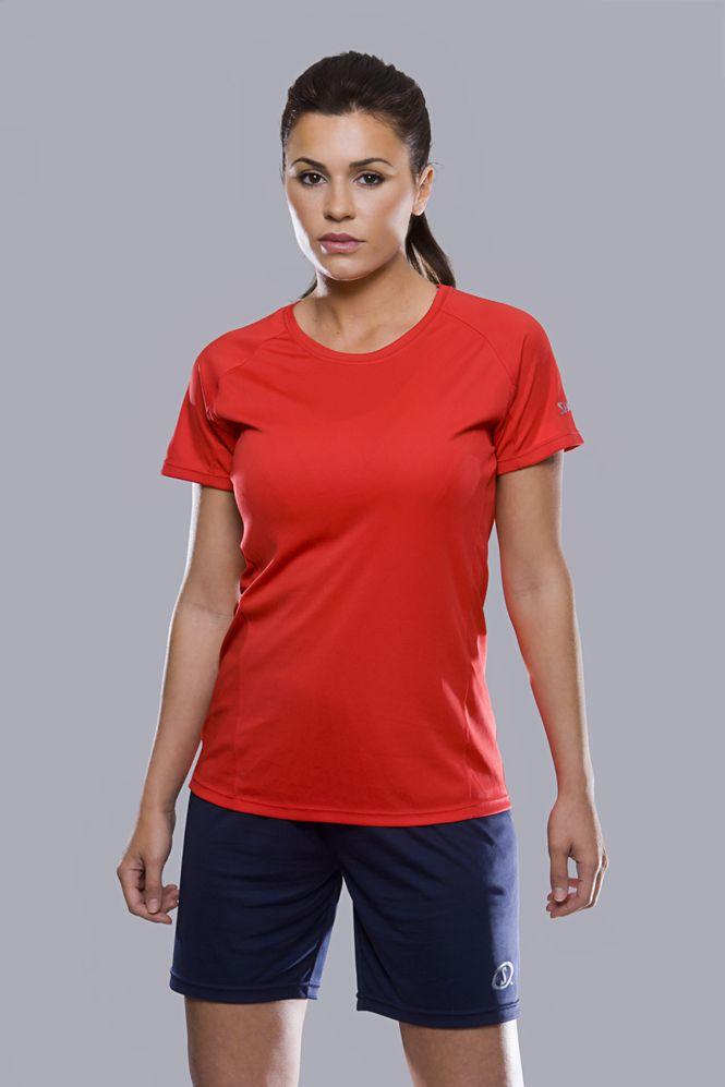 Spalding Dames Essential sport T-shirt