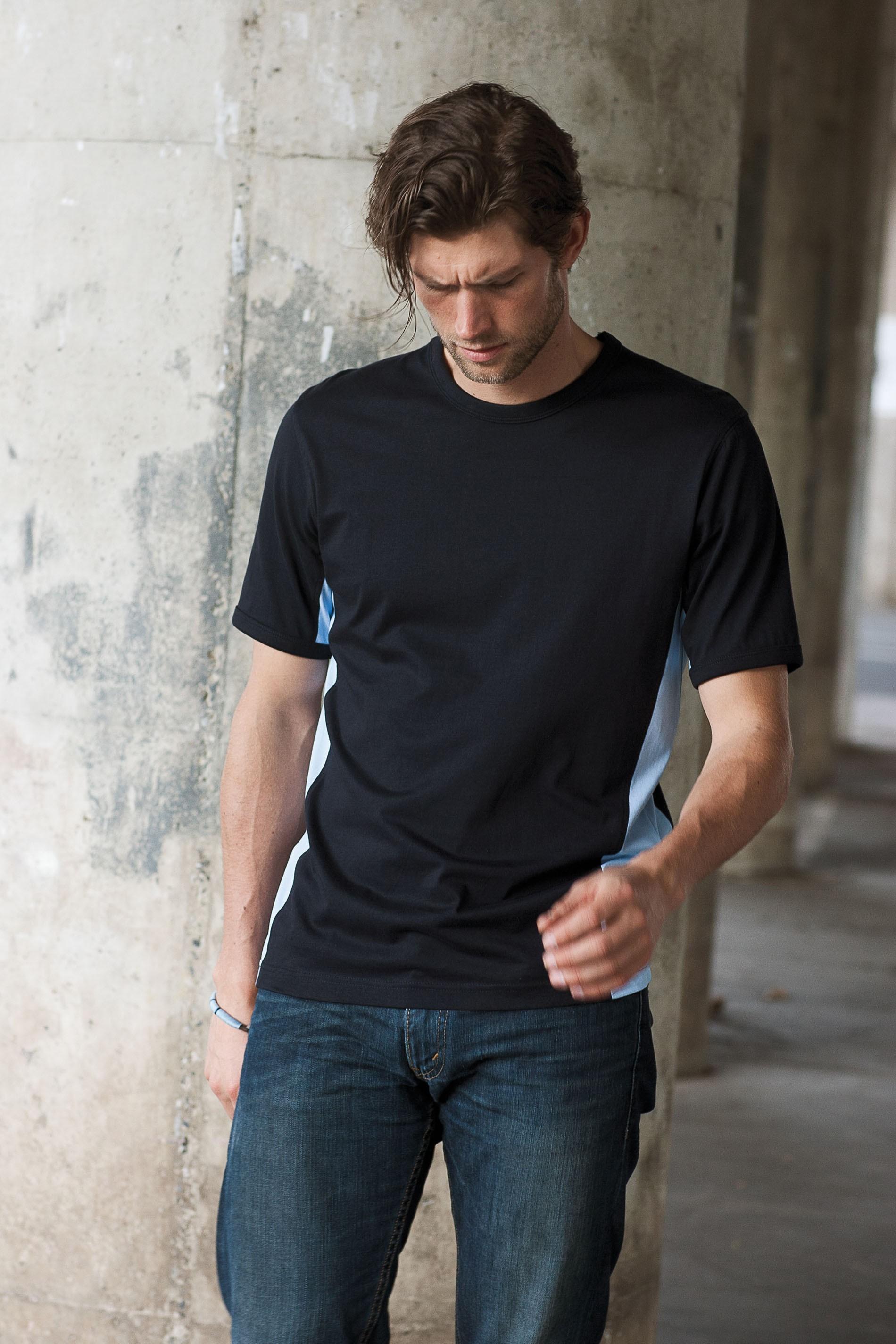 Kariban Tiger - Tweekleurig T-shirt
