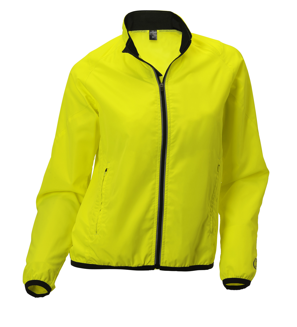 Spalding Adrenalin Dames Jacket endurance Geel
