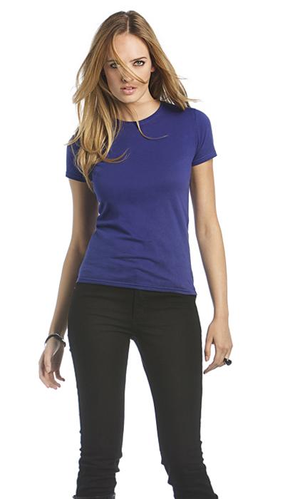 B&C Exact 190 Women T-shirt met korte mouw