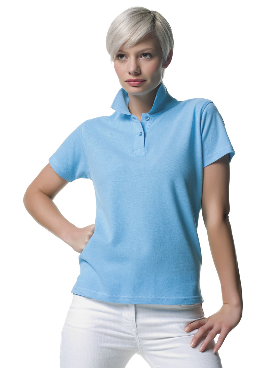 Russell Ladies Classic Cotton Polo Foto 2