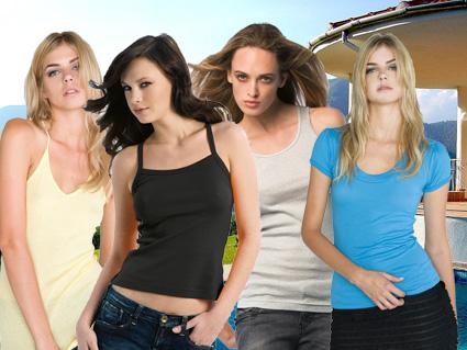 Dames T-shirts - Topjes - Hemdjes