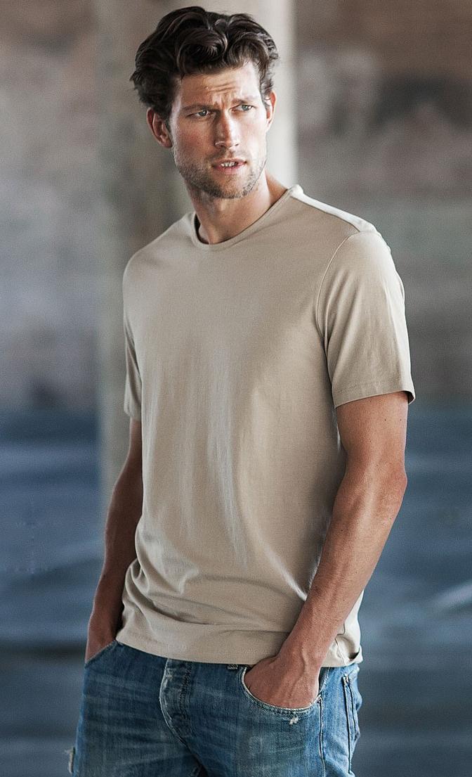 Kariban Eros Heren T-shirt met korte mouw