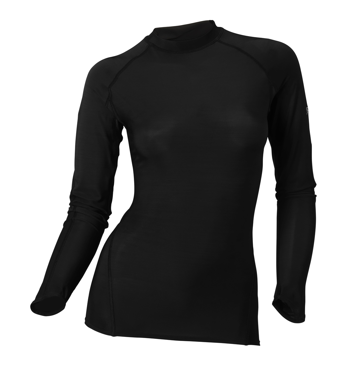 Spalding Dames Base layer long sleeve Zwart