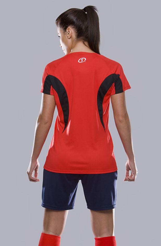 Spalding Dames Essential sport T-shirt Model AZ