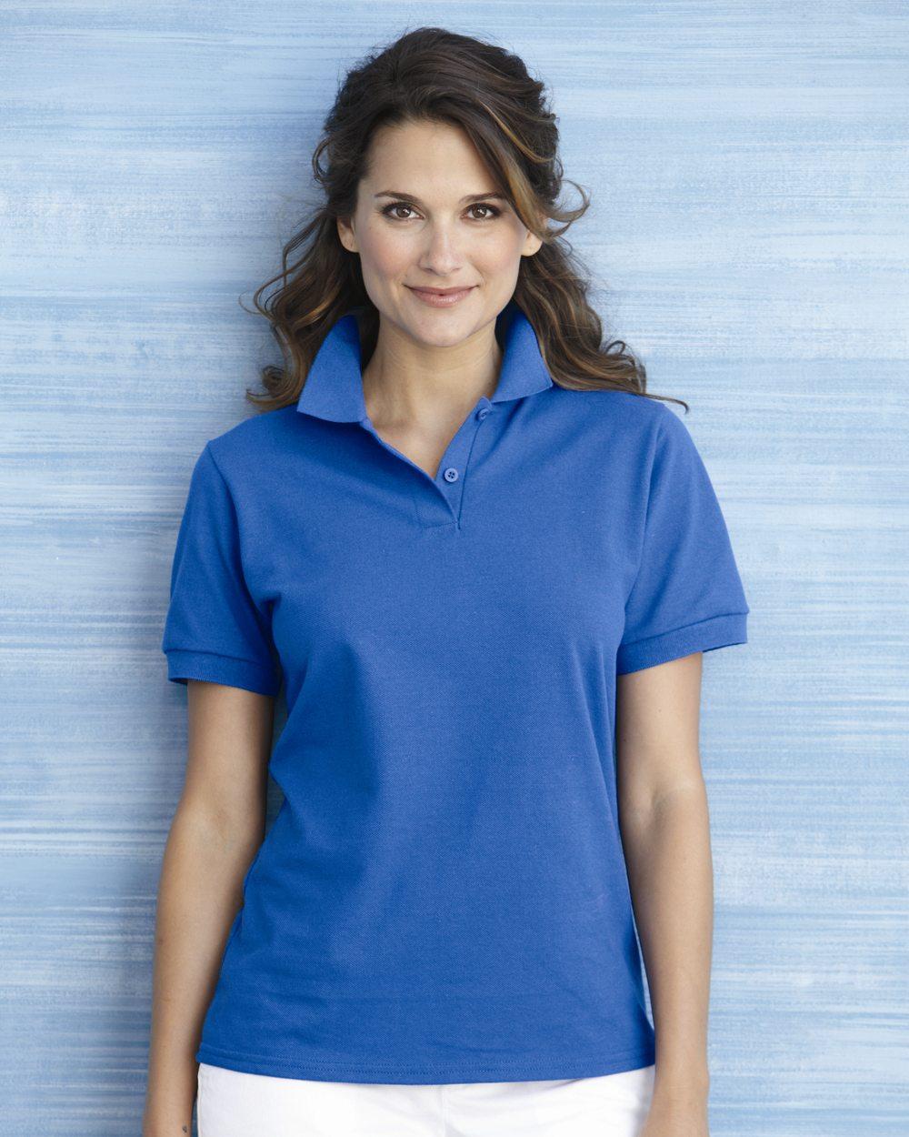 Gildan Ladies DryBlend Pique Polo Shirt
