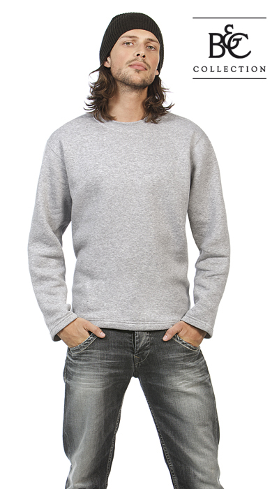 Open hem sweater