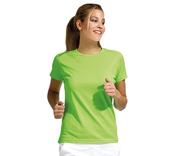 Dry Fit Dames sportshirts 3-pack
