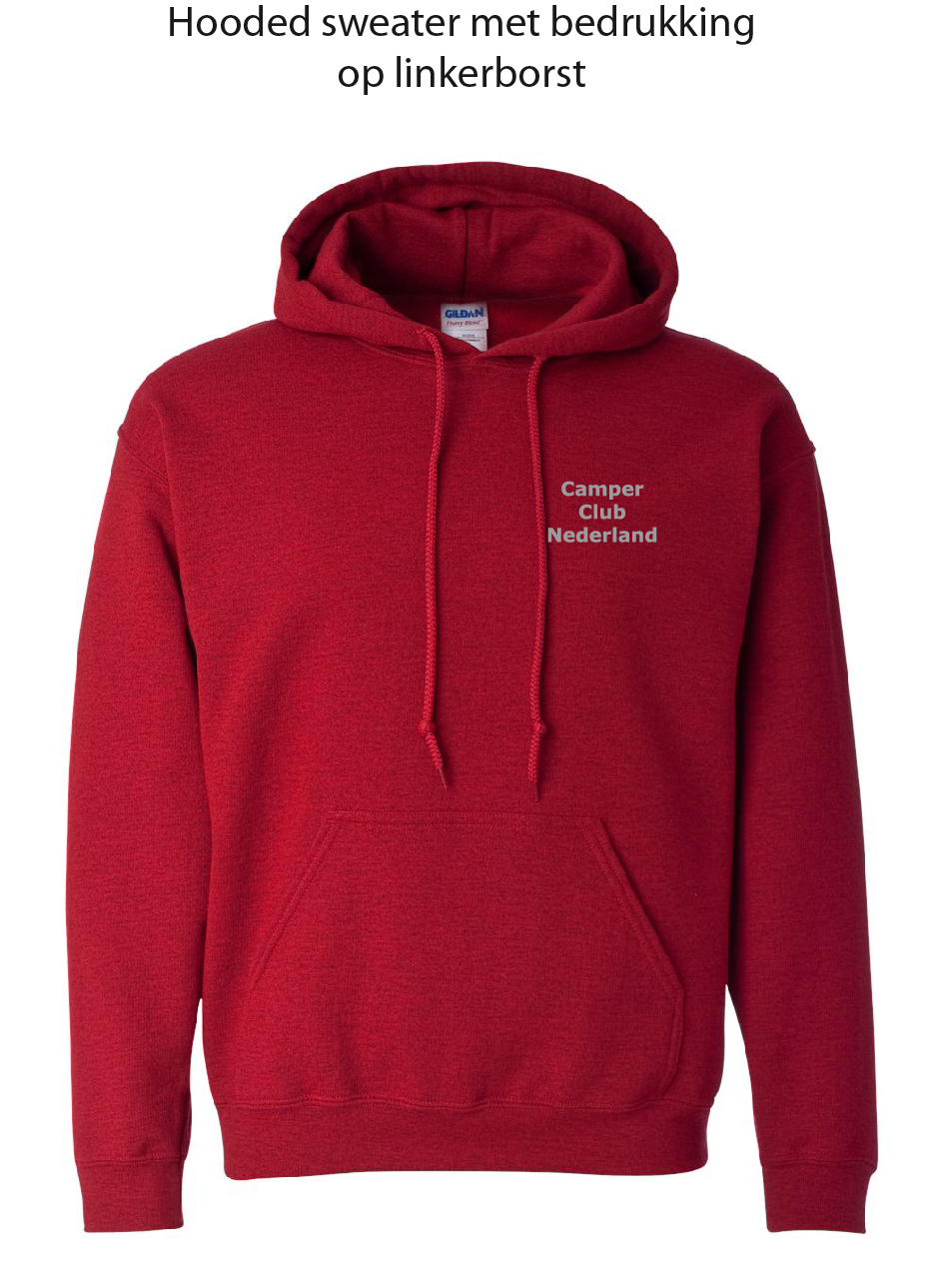 Hoodie lob Antique Cherry Red
